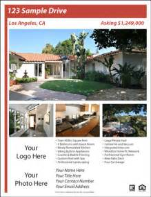 real estate flyers templates free real estate flyer and postcard templates real estate