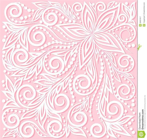 beautiful design beautiful floral pattern a design element in the stock