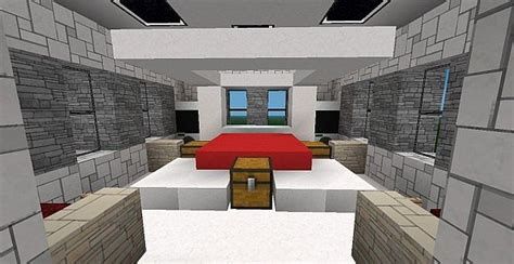 minecraft modern bedroom quartistic a modern mansion by the ultimator special