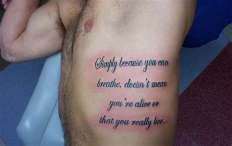 rib tattoos for men quotes the gallery for gt ideas for with meaning on ribs