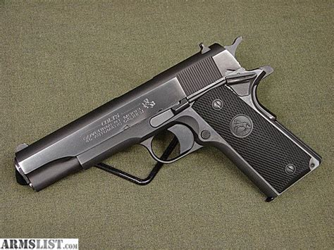 1991 colt government 45acp stainless armslist for sale colt 1991 government series 80 45acp