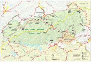 great smoky mountains maps npmaps just free maps