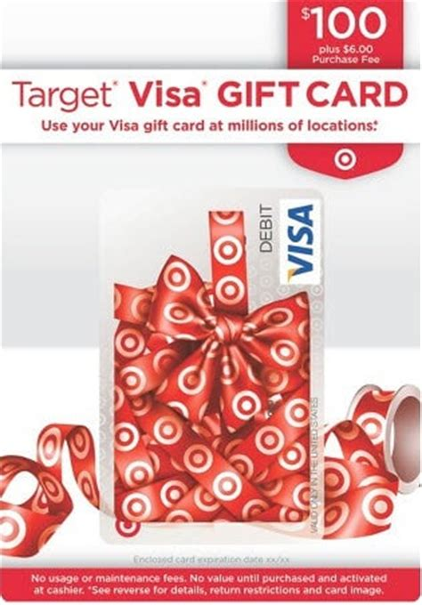 Where Do I Get Visa Gift Cards - 8 pin enabled gift cards you can load to target redcard