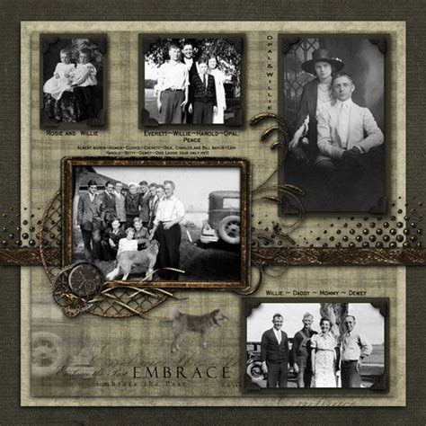pinterest old layout 219 best images about family heritage scrapbook layouts on