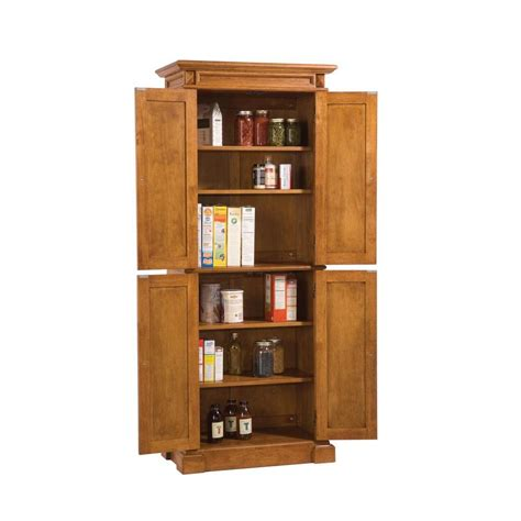 food pantry cabinet home depot home styles distressed oak pantry 5004 69 the home depot
