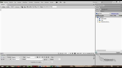 tutorial de dreamweaver cs6 interfaz gr 225 fica dreamweaver cs6 youtube