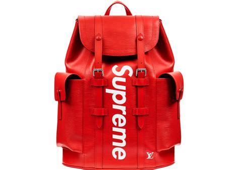 supreme bag louis vuitton x supreme christopher backpack epi pm