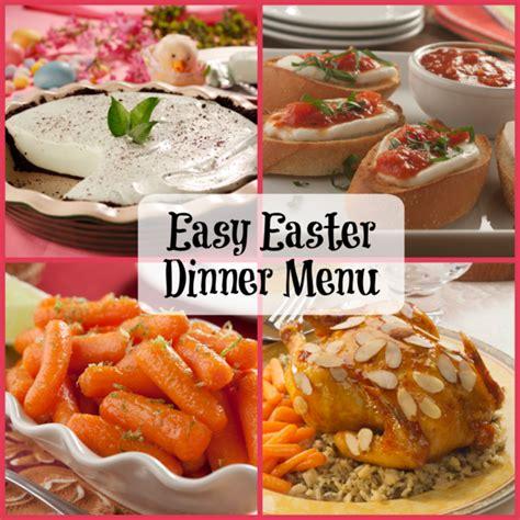 dinner easy menu easy easter dinner menu mrfood