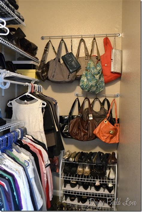 How To Organize Handbags In Closet by Purse Storage Organization On Purse Storage