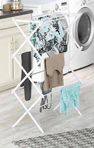whitmor folding drying rack white whitmor folding drying rack white import it all