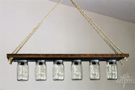 hanging bathroom lights remodelaholic upcycle a vanity light strip to a hanging