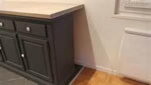 faire un plan de travail avec un meuble bas
