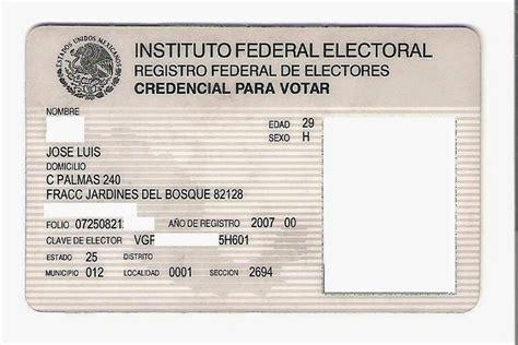 formato credencial de elector libertagia como funciona