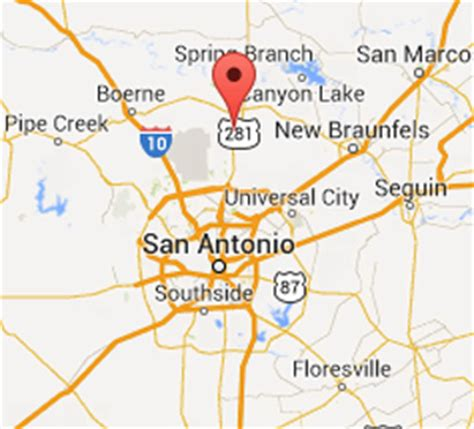 map of bulverde texas bulverde property management tx property managers
