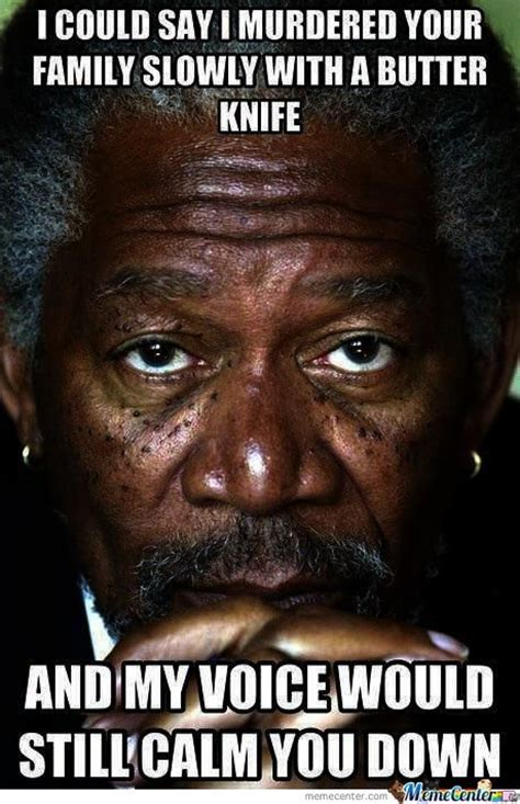 Morgan Freeman Meme - morgan freeman by kyoko meme center