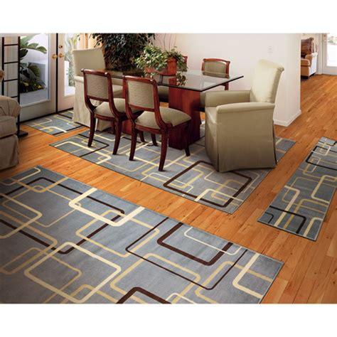 4 area rug sets circultry 4 rug set blue walmart