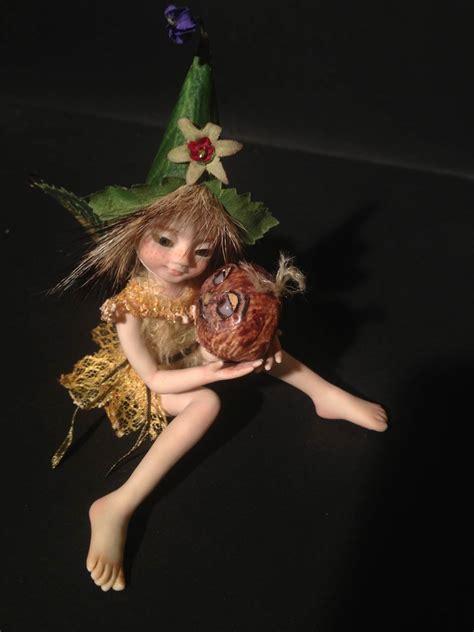 Malika Sweet ooak baby faeries tales characters by stella en v