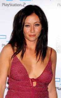 shannen doherty slight see through nip shot making you a