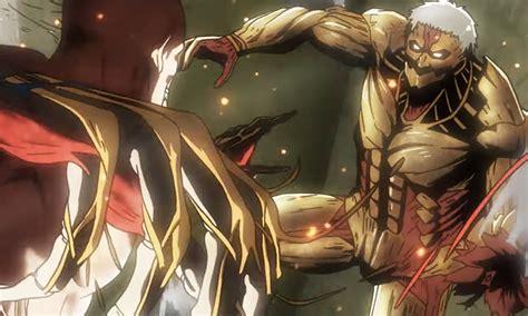 anime attack on the titan season 2 new attack on titan season 2 trailer shows all out