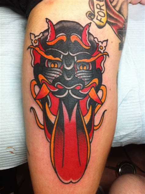 traditional devil tattoo traditional tattooshunt