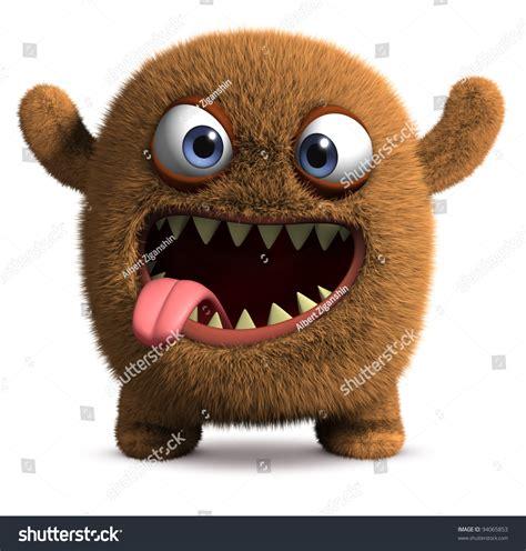 shutterstock stock bigfoot monster happy cartoon monster stock illustration 94065853