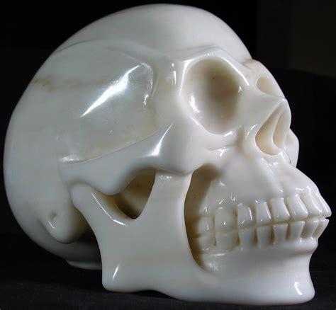 White Jade white jade skull 001a by skullkraft on deviantart