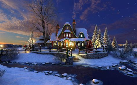 wallpaper christmas snow 3d white christmas wallpapers wallpaper cave