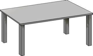 image vectorielle gratuite table gris d argent plat