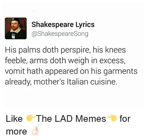 Shakespeare Lyrics Meme - funny shakespeare memes of 2017 on sizzle heartache