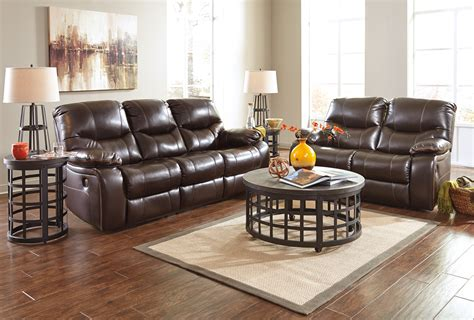 furniture set living room buy ashley furniture pranas brindle reclining living room