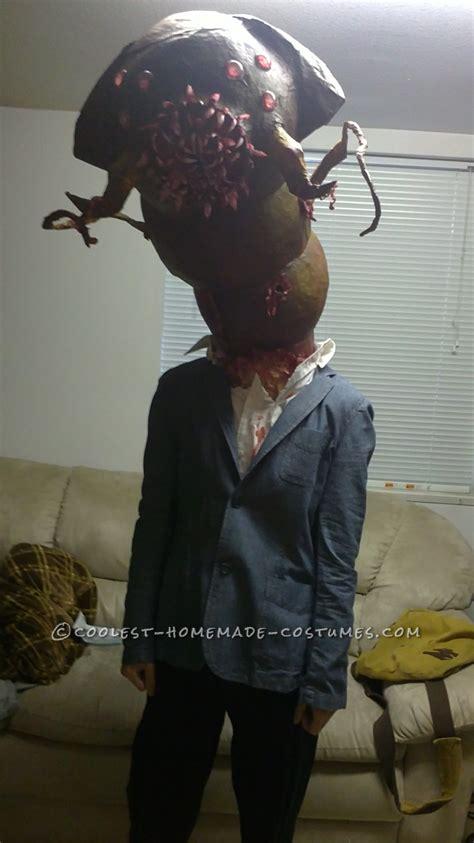 creepy parasitic alienmonster costume inspired