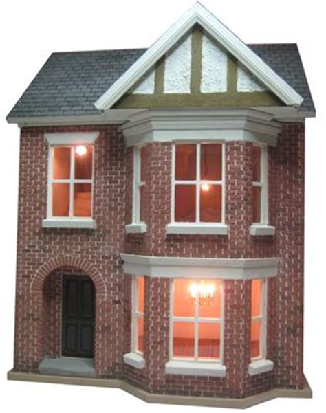 dolls house decorating dolls house kit building and decorating project by bromley craft products