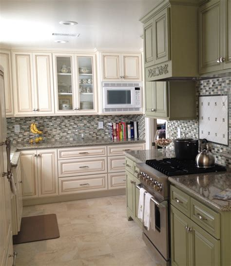 seafoam green kitchen cabinets pin by kitchen and bath on kitchens