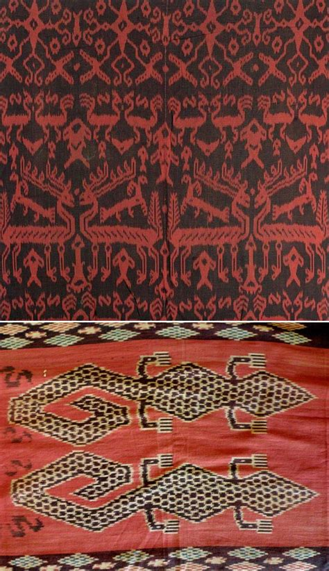 Borneo Ikat research on our vintage ikats from sumba indonesia