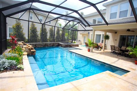 florida house plans with pool professional pool spa builders serving central florida