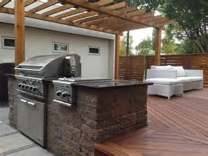 Low Maintenance Backyard Landscaping Outdoor Kitchens Calgary