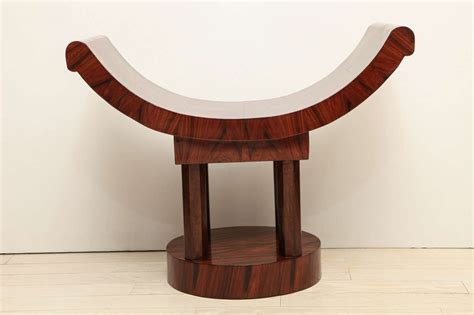 curved seating bench french art deco wood bench with curved seat circa 1930s