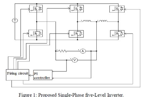 block diagram of inductor voltage unbalance elimination in multilevel inverter using coupled inductor and feedback