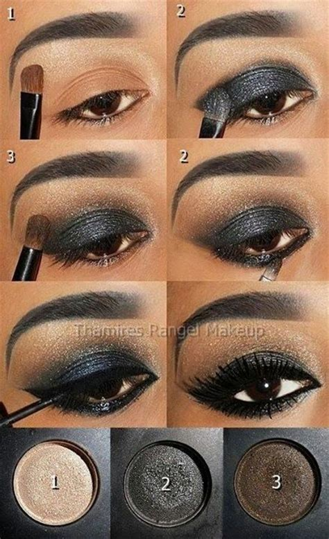video sexy smokey eyes step by step maquillaje social paso a paso maquillaje pinterest