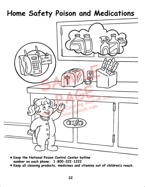 safety coloring pages archives kids coloring gallery