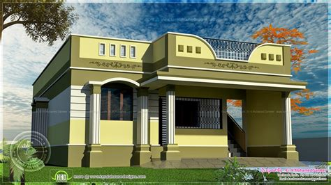 home design in tamilnadu style 100 square meter one floor house design kerala home