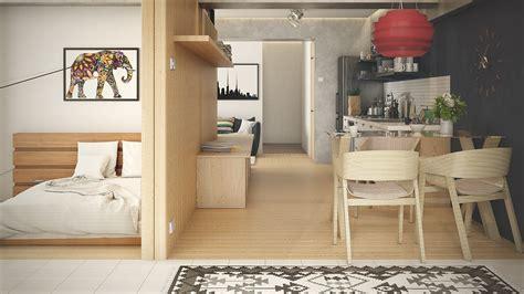 desain apartemen studio terbaik inspirasi desain terbaik apartemen tipe studio yang