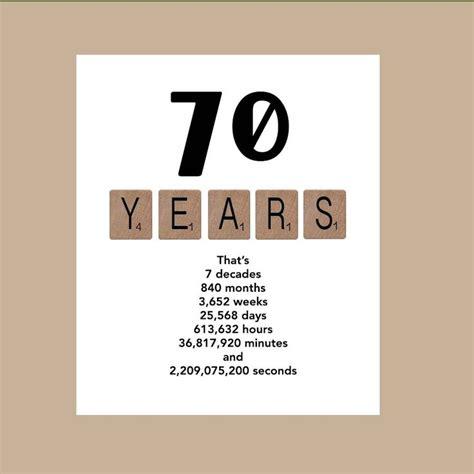 best 25 70th birthday card ideas on diy 70th