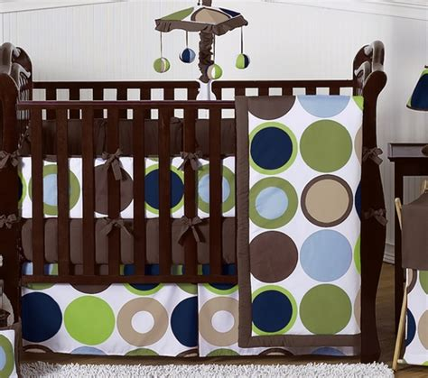 Trendy Baby Bedding Crib Sets Designer Dot Modern Baby Boys Bedding By Sweet Jojo Designs 9 Pc Crib Set Only 189 99