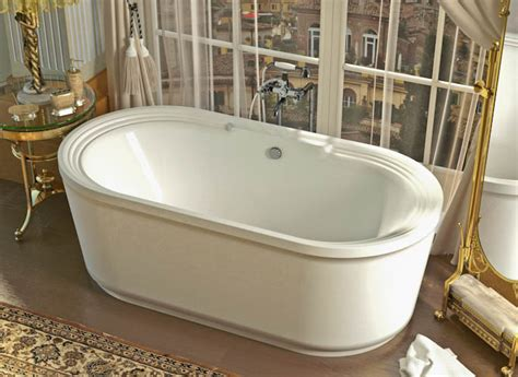 free standing jetted bathtub atlantis tubs 3467rw royale 34 x 67 x 24 inch freestanding whirlpool jetted bathtub