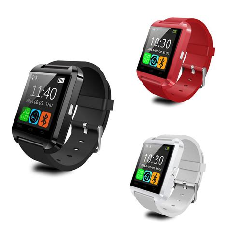 Smart U8 For Android Dan Ios T3010 1 U8 Smartwatch For Ios And Android White