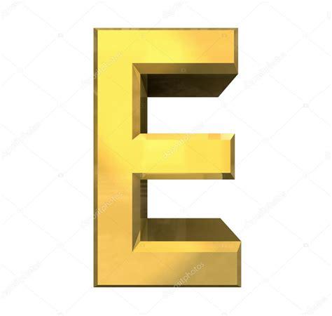 e i gold 3d letter e stock photo 169 fambros 11905759