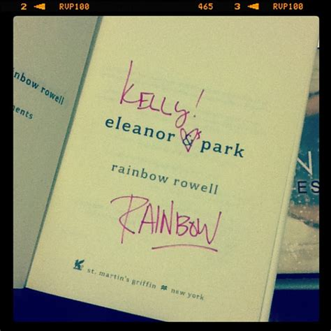 Eleanor Park Special Edition Bookpaper judge a book by its signature special edition aka this