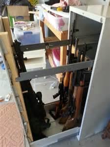 file cabinet gun safe 1000 ideas about gun cabinets on gun
