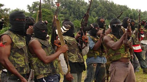 nigerian govt expresses concern over killing of citizens in south view militant groups declare truce in niger delta nigeria